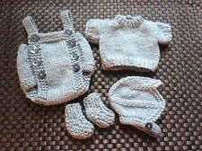HAND Knitted DOLLS OUTFIT 10-11 in/Reborn Ooak