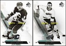 2x UD SP AUTHENTIC 2013 LANNY MacDONALD #105 FLAMES TED LINDSAY #142 CARDS LOT