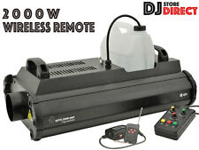 QTX QTFX-2000 MKII HIGH POWERED FOG MACHINE 2000W - WIRELESS REMOTE 160.473