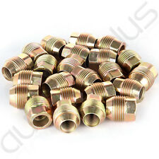 """24 Piece 7/8"""" 14x1.5 Open End Lugs Nuts For Chevy GMC GM Factory Style Lugs"""