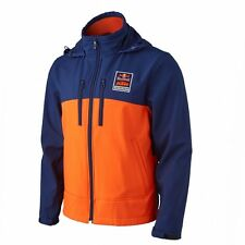 KTM Powerwear Red Bull KTM Performance Softshell Jacket Orange Blue Size XL