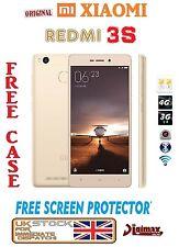 """NUOVO GOLD 5.0"""" XIAOMI REDMI 3s Octa Core Dual SIM Sbloccato Telefono 4100mah UK"""