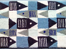 "Coastal Living Collection ""Sea Life"" Hand Tufted in USA Wool Rug"