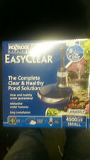 HOZELOCK EASYCLEAR 4500 FISH KOI POND ALL IN ONE KIT PUMP UV UVC & FILTER MEDIA
