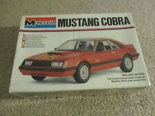 Monogram Ford Mustang Cobra 1:24 Scale Model Kit MISB Sealed 1979 See My Store