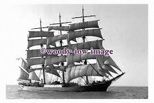 rs0113 - Finnish Sailing Ship - Pamir , built 1905 - photograph