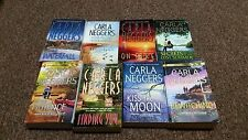 CARLA NEGGERS 8 stand alone novels ON FIRE, FINDING YOU, THE WATERFALL