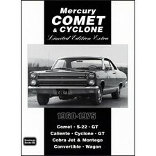 Mercury Comet & Cyclone Limited Edition Extra 1960-1975 book paper