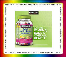 KIRKLAND Adult Multivitamin 2 PACK of  160 Gummies, For Overall Wellness 320 tl