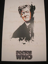 Dr. Who Lithograph- 3rd Doctor Jon Pertwee! In color!   11x17 inches! LOOK!