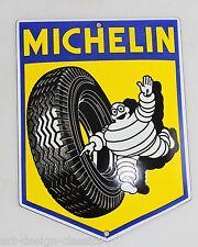 Michelin Männchen Bibendum - 15x11cm - Emailschild - Reifen - Schild - Türschild