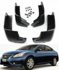 NEW SET Splash Guards Mud Guards Mud Flaps MudGuards For 2013-2016 Nissan Sentra