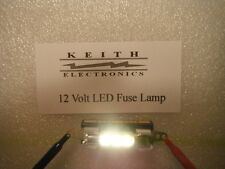 NEW 12 VOLT WARM WHITE LED FUSE TYPE LAMP MOD UPGRADE  STEREO HIFI