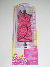 Kit Vêtements Robe de Soirée Rose Strass Barbie Mattel NEW