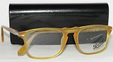 NEW AUTHENTIC MENS PERSOL PO3059V 204 MIELE EYEGLASSES ITALY 50mm
