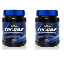 2 BOTES DE  CREATINA BIGMAN 500gr total 1 kg creapure Monohidrato Micronizada