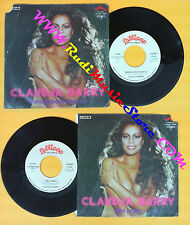 LP 45 7'' CLAUDJA BARRY Banana boat day-o Girl crazy 1980 italy no cd mc dvd