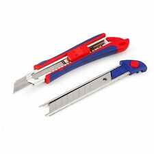 WORKPRO 18mm Plastic Snap-off Knife 5Blade More Utility Knife Exacto Cutter Tool