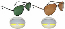 2Pcs Polarised Original Sunglasses 100% UV Protected SunGlasses Dust Protection