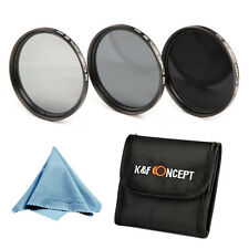67mm Neutral Density ND2 4 8 Lens Filter KIT  for Canon18-135MM Nikon18-105MM