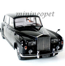 PARAGON 98213 1964 64 ROLLS ROYCE PHANTOM V MPW 1/18 DIECAST MODEL CAR BLACK