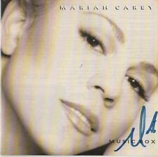 "Mariah Carey Autogramm signed CD Booklet ""Music Box"""