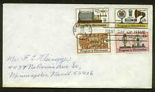 1500-1502, C86 ELECTRONICS COMPLETE SET FDC NEW YORK, NY FIRST DAY COVER