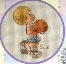 Enter His Courts With Thanksgiving Cross Stitch Kit  Precious Moments