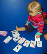 Valentine Playing Cards w Conversation Hearts Card Deck fit American Girl Dolls