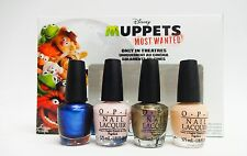 Mini Disney's MUPPETS MOST WANTED  - OPI Nail Polish Color 4ct/pk