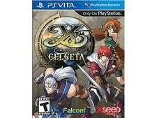 Ys: Memories of Celceta PlayStation Vita