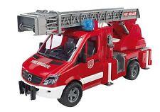 BRUDER 2532 Mercedes Benz Sprinter autopompa Pompieri con luci e suono