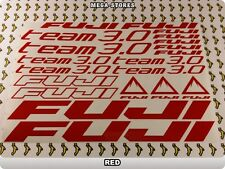FUJI TEAM 3.0 Stickers Decals Bicycles Bikes Cycles Frames Forks Mountain 61GE