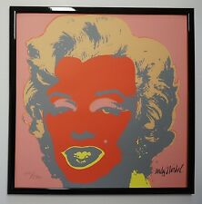 D - Andy Warhol Marilyn Monroe Lithograph Limited 2400 pcs.
