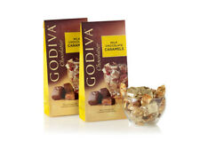 2 Bags Godiva Wrapped Milk Chocolate Caramels, 3.5 Ounce/each