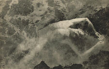 Vintage Lionel Wendt Asian Male Nude Floating Swimming Photogravure Photo Print