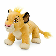 Disney Store Authentic Patch Lion King Simba Plush Toy Doll Stuffed Animal 11""