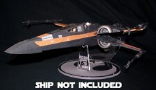 Acrylic display stand for Hasbro Star Wars Force Awakens X-wing fighter T-70