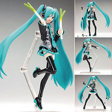 Hatsune Miku 1/8 Scale Figurine Mini PVC Manga Dolls Action Figure Toy 15cm/6""