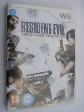 jeu nintendo wii resident evil the darkside chronicles
