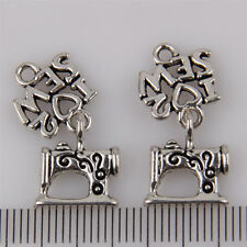 10Pcs Zinc Alloy New sewing machine Charms Pendants 25x12mm 1A1921