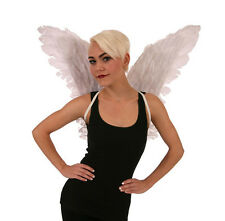 Feathered White Wings Feather Angel Fairy Bird Adult Halloween Costume