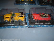 LOT 2 FIGURINES BLAKE ET MORTIMER NEUVES - VOITURES BUICK FORD CABRIOLET