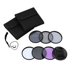 Andoer 72mm UV+CPL+FLD+ND(ND2 ND4 ND8) Filter Kit Set for Nikon Canon Sony G8D8