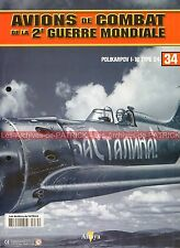 AVIONS DE COMBAT 34 WW2 POLIKARPOV I-16 TYPE 24