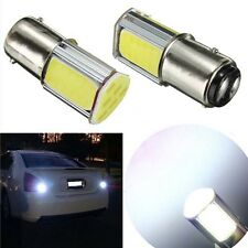 2x White 1157 BAY15D COB LED Car Auto Light Brake Turn Signal Parking Bulb Lamp