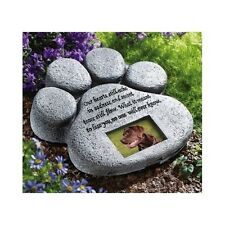 Loss Of A Pet Memorial Stones Plaques Grave Markers Monument Headstones Dog Paw