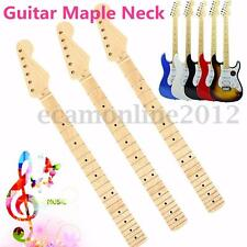 22 Fret 66mm Electric Guitar Neck For ST Parts Maple Wood Fretboard Replacement