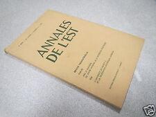 ANNALES DE L EST 1973 N° 2 Le mouvement académique au XVIIIe siècle*