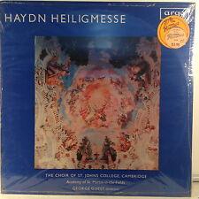 HAYDN HEILIGMESSE-GEORGE GUEST LP ARGO ZRG-542 Vinyl